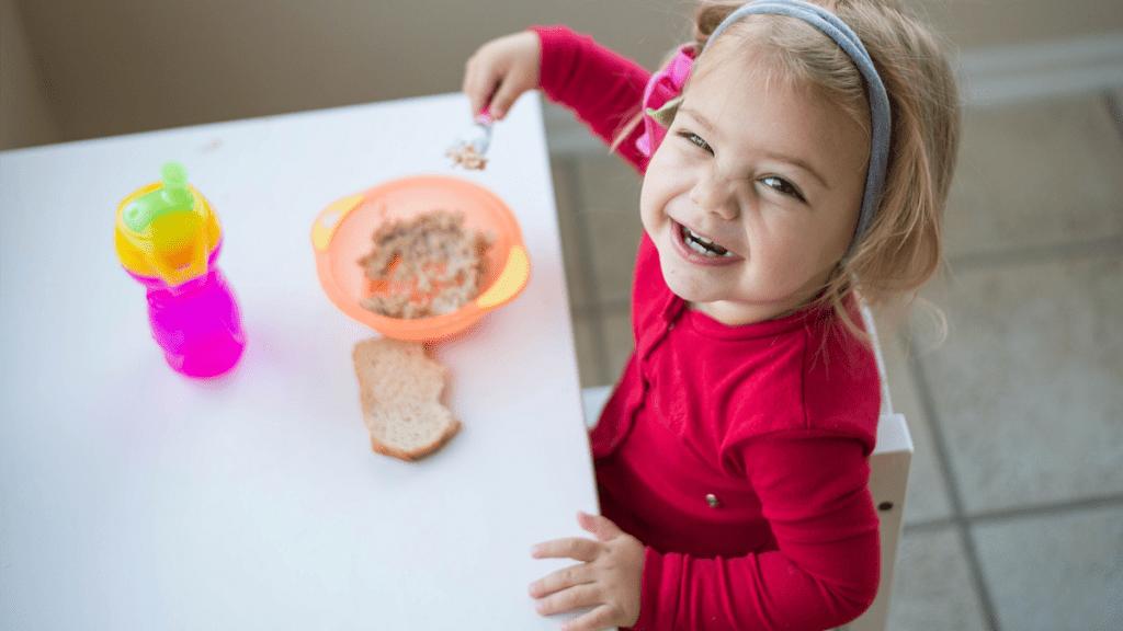 cómo saber si un niño se alimenta bien