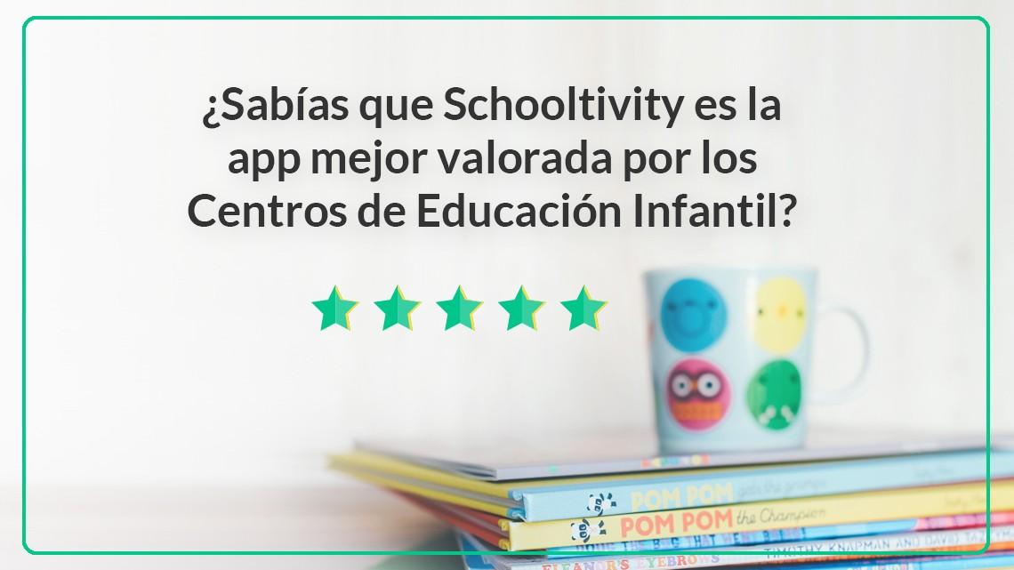 Schooltivity App mejor valorada por los centros de educación infantil